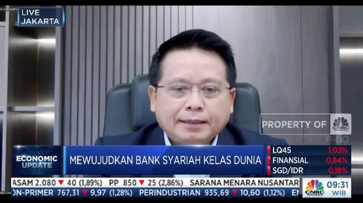 Direktur Utama PT Bank Syariah Indonesia, Tbk Hery Gunardi,