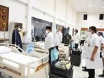 Pandemi Mengganas, Prabowo 'Sulap' Pusdiklat Jadi RS Darurat