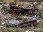 Potret Banjir Parah Serang Jerman, Mobil sampai Rumah Hancur