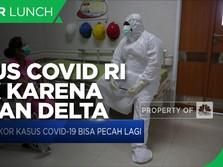 Luhut: Kasus Covid-19 Indonesia Naik Akibat Varian Delta