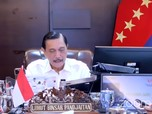 Luhut Sebut Corona di DKI Turun, Yakin Pekan Depan Bali Susut