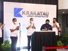Resmikan Subholding KSI, Ini Pesan Erick Buat Krakatau Steel