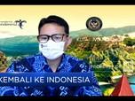 Sandi Uno Klaim Work From Bali Efektif Dongkrak Wisatawan