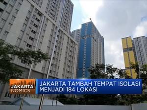 Jakarta Tambah Tempat Isolasi Menjadi 184 Lokasi