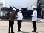 Jokowi 'Sidak' ke Pabrik Gas Oksigen, Saham AGII Melonjak!