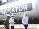 Pabriknya 'Dicolek' Jokowi, Saham AGII Malah Anjlok Lagi!