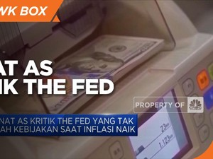 Senat AS Kritik The Fed yang Tak Ubah Kebijakan Saat Inflasi