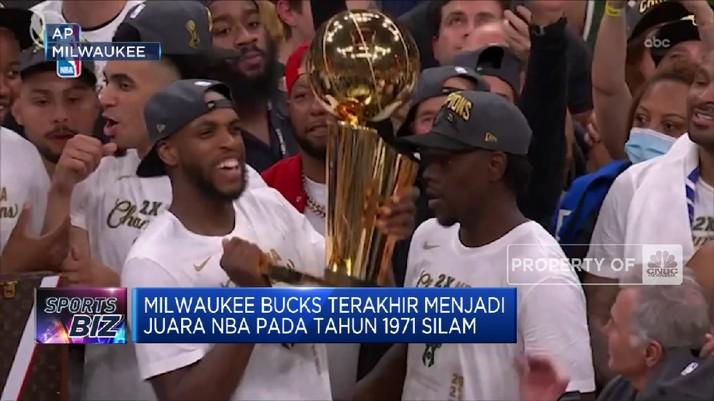 Milwaukee Bucks Juara NBA 2020/2021