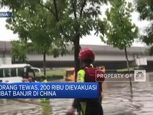 12 Orang Tewas, 200 Ribu Dievakuasi Akibat Banjir di China