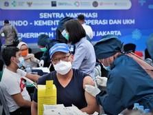 KemenKopUKM Gencarkan Vaksinasi Pelaku UMKM di Daerah