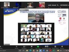 TRANSMEDIA & CT ARSA Foundation Salurkan Hazmat Hingga Masker