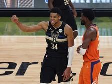 Puja-puji untuk Giannis usai Antarkan Bucks Juara NBA 2021