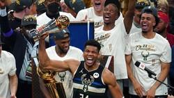 Giannis Antetokounmpo MVP Final NBA 2021