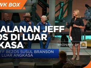 Intip Perjalanan Jeff Bezos yang Berhasil ke Luar Angkasa