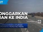 AS Longgarkan Aturan Warganya Pergi Ke India