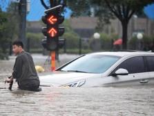 Korban Tewas Banjir China Capai Lebih dari 300 Orang