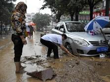 Wah, Hujan Deras di China Picu Kerugian Ekonomi Rp554 Miliar