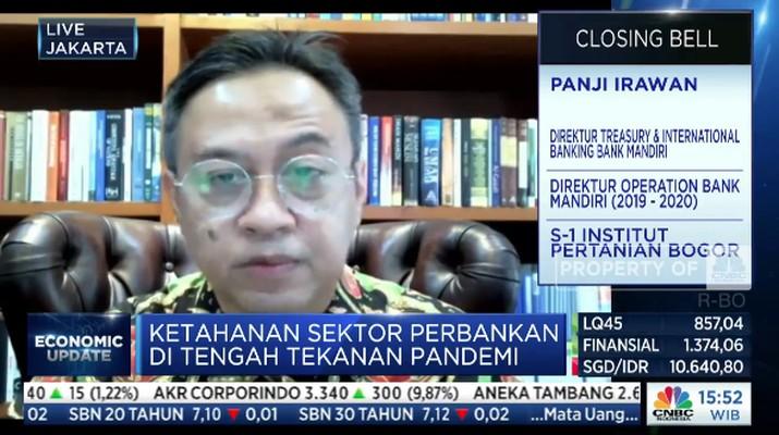Direktur Treasury & International Banking Bank Mandiri, Panji Irawan