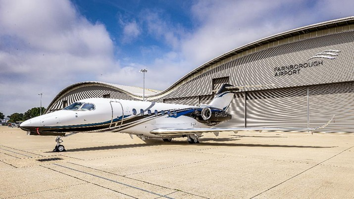 Textron Aviation announced its flagship Cessna Citation Longitude super-midsize business jet has achieved certification from the European Aviation Safety Agency (EASA). This clears the way for customer deliveries to begin in the region. (Photo: Business Wire via AP)
