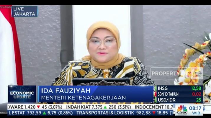 Menteri Tenaga Kerja, Ida Fauziyah