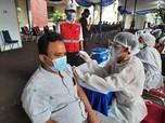 Brantas Abipraya Gelar Vaksin COVID-19 Gratis