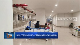 Corona RI Kembali Cetak Rekor Kematian Harian