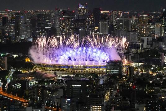 Intip Kemeriahan Upacara Pembukaan Olimpiade Tokyo 2020