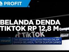 Belanda Denda TikTok Rp 12,8 Miliar