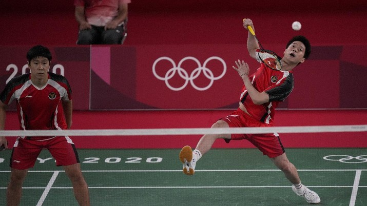 Bulu Tangkis Olimpiade Tokyo 2020. (AP/Dita Alangkara)