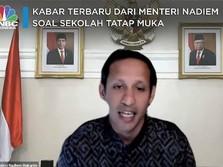 Ini Kabar Terbaru Dari Menteri Nadiem Soal Sekolah Tatap Muka
