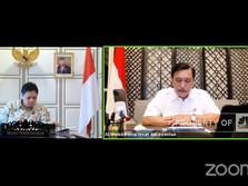 Arahan Luhut Soal Aktivitas Saat PPKM Level 4 di 95 Kota/Kab