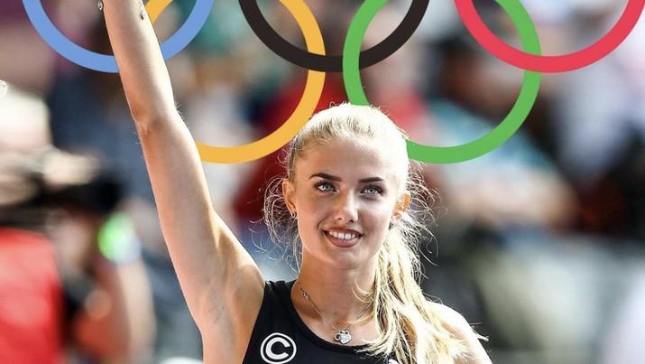 Allysin Felix atlet pelari AS. (Dok: ig alicasmd)