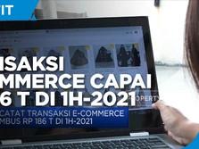 BI Catat Transaksi e-Commerce Capai Rp 186 Triliun di H1-2021