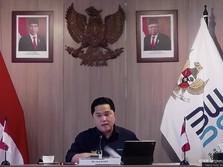 Erick Bikin BUMN Koasuransi Merah Putih, Garap Asuransi Kargo