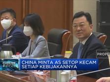 Perbaiki Hubungan, China Minta AS Setop Kecam Kebijakannya