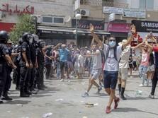 PM Tak Becus Tangani Covid-19, Warga Tunisia Rusuh