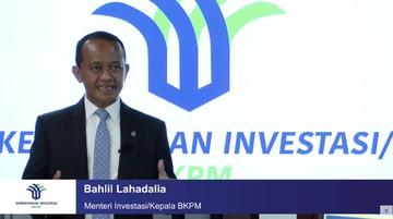 bahlil lahadalia dalam acara konferensi pers virtual realisasi investasi triwulan ii 2021 dok bkpm tv 5 169 - SatuPos.com