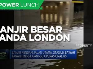 Banjir Besar Genangi London