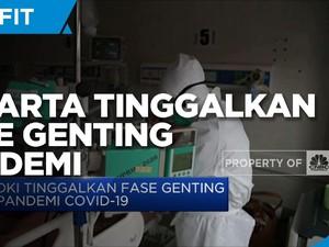 DKI Tinggalkan Fase Genting Pandemi Covid-19