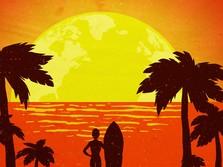 'Sunset' Terindah di Bumi Ternyata Salah Satunya di Bali