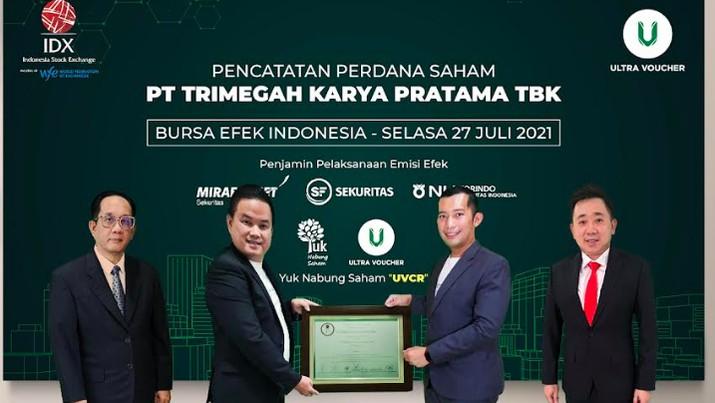 IPO PT Trimegah Karya Pratama Tbk (UVCR) 27 Juli 2021, dok BEI