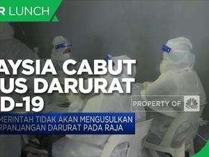 Kasus Masih Tinggi, Malaysia Cabut Status Darurat Covid-19
