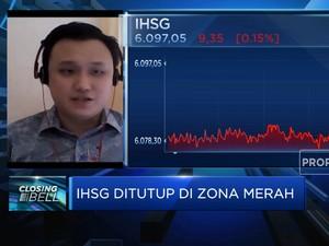 Net Buy Asing Melemah, IHSG Ditutup di Zona Merah