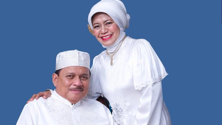 Almarhum H. Abdussamad Sulaiman HB dan Almarhumah Hj. Nurhayati, dok Hasnur Group