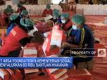 CT Arsa Foundation & Kemensos Bagikan 80 Ribu Bantuan Makanan