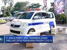 CT Arsa & Dompet Amal Transmedia Donasi Ambulans