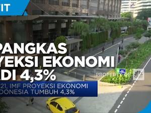 IMF Pangkas Proyeksi Pertumbuhan Ekonomi RI jadi 4,3%