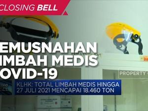 Jokowi Siapkan Rp1,3 T Demi Musnahkan Limbah Medis Covid-19