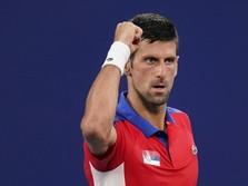 Novak Djokovic Tembus Perempat Final, Asa Golden Slam Terjaga