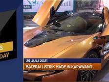 Baterai Listrik Made In Karawang & Pendapatan Facebook Naik